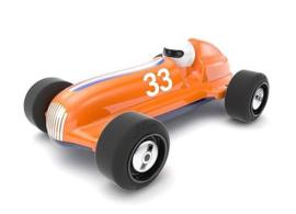 Studio Racer Orange-Max #33 Schuco