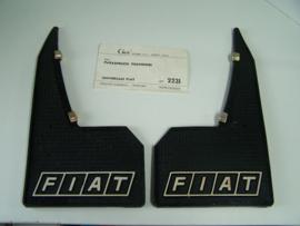 Spatlappen Fiat achterzijde