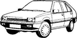 Mitsubishi Colt 1984-1988