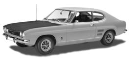 Ford Capri mk1 1968 tot 1974