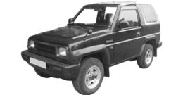 Daihatsu Rocky 1984-1998