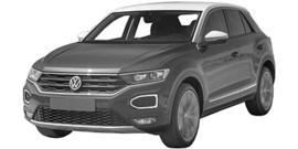 Volkswagen T-Roc vanaf 10/2017