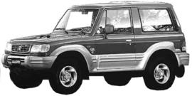 Hyundai Galloper 1991-2001