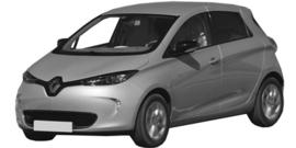 Renault Zoe vanaf 06/2012+