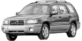 Subaru Forester 2002- 11/2007