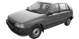 Daihatsu Charade 1983-1994 G11, G100