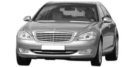 Mercedes S W221 2005-2013