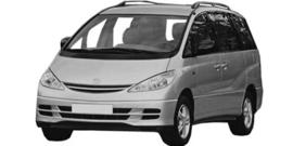 Toyota Previa vanaf 2000+