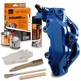 Foliatec Remklauwlakset - RS blauw - 3 Componenten