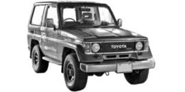 Toyota Landcruiser J7 1984-2001