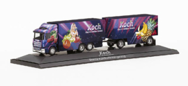 "Scania 164 refrigerated box trailer ""Koch"""