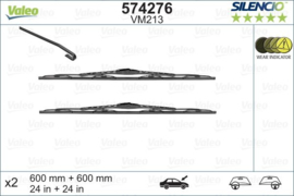 Ruitenwisserset Opel Zafira 03/1999 - 06/2005