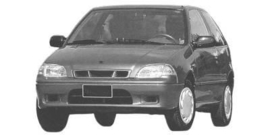 Suzuki Swift 1996-2005