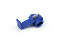 Aftakklem kabel naar kabel 0.5 -2.5mm² blauw