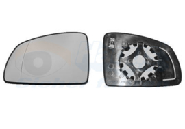 Spiegelglas OPEL MERIVA A tot 2010 Links