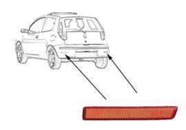 REFLECTOR R. In Bumper Fiat Croma 2005 tot 2007