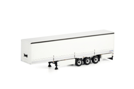 White Line; CURTAINSIDE TRAILER - 3 AXLE
