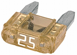 Mini steekzekering 25 A