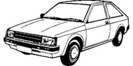 Nissan Cherry 1983+ N12