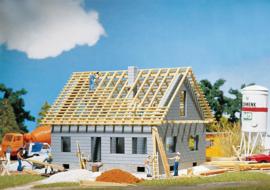 Eengezinswoning in aanbouw Faller 130303