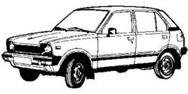 Suzuki Alto SS80 1981-1985