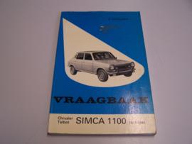Vraagbaak Simca 1100          1977-1980