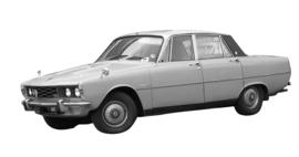 Rover 2000 - 2200 - 3500 P6 1963-1978