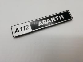 logo voor een Fiat A112 Abarth