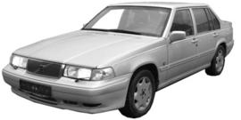 Volvo S90/ V90  1996-1998