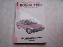 Vraagbaak Honda Civic 1987-1991