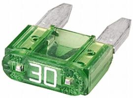 Mini steekzekering 30 A