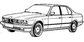 Bmw 7 Serie E32 1986-1994