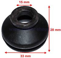Fusee Rubber 33mm x 28mm G15