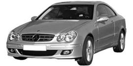Mercedes CLK C209 2002-2008
