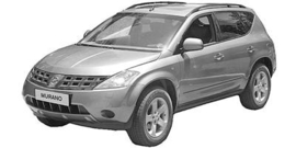 Nissan Murano Z50 8/2003-2008