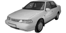 Hyundai Excel -Pony 1992-1995