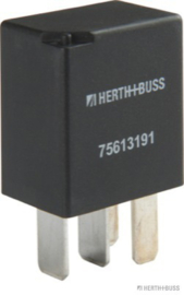 Mini Relais4 polig met Diode 25Amp