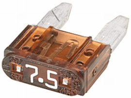 Mini steekzekering 7,5 A
