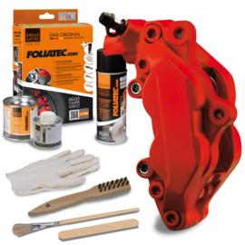 Foliatec Remklauwlakset - racing rosso mat - 3 Componenten