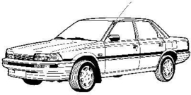 Toyota Camry 1987-1992