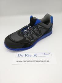 Beta schoenen , 7340B , Kleur: zwart/blauw , Maat: 45
