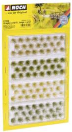 Grasbüschel XL verschiedene Grüntöne, 92 st., 12 mm