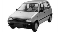 Daihatsu Cuore 1986-1990 L80,L81