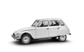 Citroen Dyane 1969 tot 1984