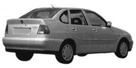 Volkswagen Polo 1996- 2002 Berline 4P
