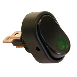 Schakelaar met Groene LED