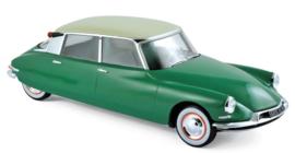 Citroen DS 19 1956 Vert Printemps & Champagne
