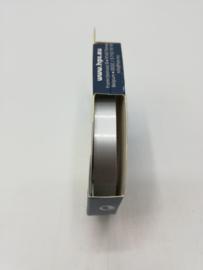 Sierbies 9mm Zilver Grijs