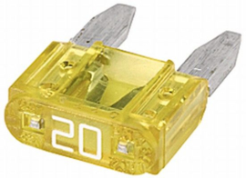 Mini steekzekering 20 A