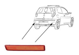 REFLECTOR L. In Bumper Fiat Croma 2005 tot 2007